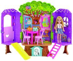 Mattel Barbie Chelsea és faház