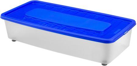Heidrun Box úložný pod postel 35 l, modrá