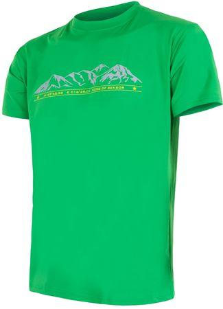 Sensor Coolmax Fresh PT Hory pánské triko kr.rukáv sv.zelená M