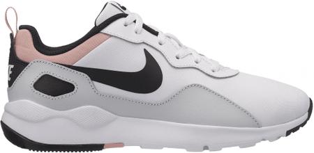Nike ženske superge LD Runner Shoe White Black-Pure Platinum-Coral Stardust, belo črne, 37,5