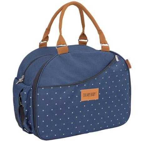 Badabulle Pelenkázó táska WEEKEND Dark Blue