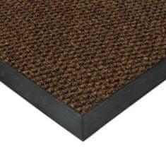 FLOMAT Hnědá textilní zátěžová čistící vnitřní vstupní rohož Fiona, FLOMAT, 02 - 1,1 cm