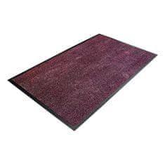 Fialová textilní čistící vnitřní vstupní rohož - 0,8 cm