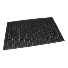 FLOMAT Gumová vstupní čistící neděrovaná rohož Waves - 150 x 90 x 1,2 cm