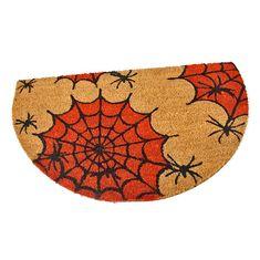 FLOMAT Kokosová vstupní rohož Spiders - 75 x 45 x 1,7 cm
