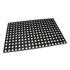 FLOMA Gumová vstupní čistící rohož na hrubé nečistoty Honeycomb - 80 x 50 x 1,6 cm