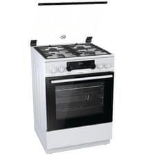 Gorenje kuchnia gazowo-elektryczna K634WF