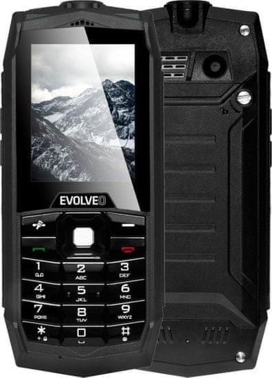 Evolveo StrongPhone Z1, Dual SIM, čierny