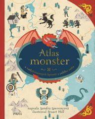 Lawrence Sandra: Atlas monster a nadpřirozených bytostí z celého světa