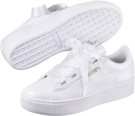 Luxus an vorderster Front der Zeit Promo-Codes Puma Vikky Platform Ribbon P White 39