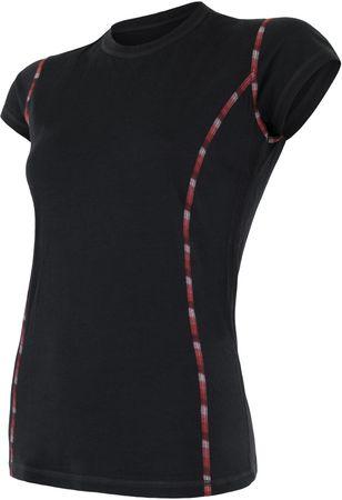 Sensor Merino Air dámské triko kr.rukáv černá M