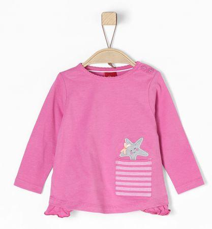 s.Oliver dívčí tričko 74 ružová