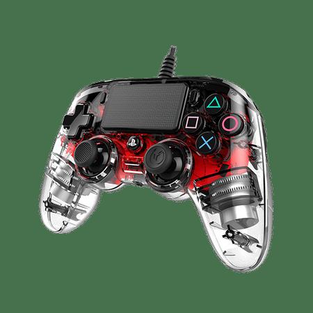 Nacon Nacon igralni plošček za PS4, svetlo rdeč