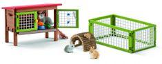 Schleich Set králíkárna se zvířátky a příslušenstvím 42420