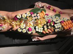Allegria nyotaimori - body sushi