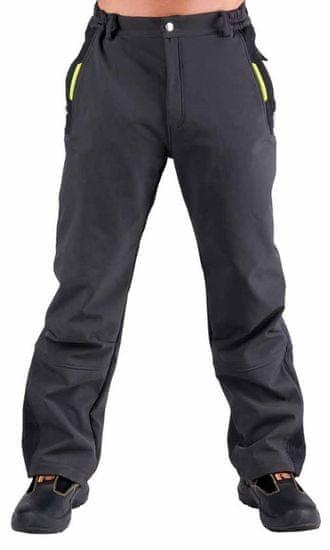 Olza Softshellové zateplené nepremokavé nohavice Olza L