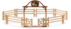 Schleich ograja za konje s vhodnimi vrati 42434