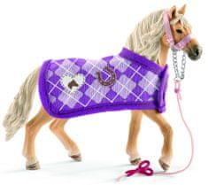 Schleich Adalúz ló és divatos kiegészítők 42431