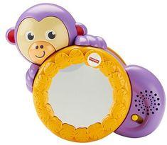 Fisher-Price interaktywna małpka z lusterkiem