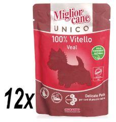 Miglior Cane Unico mokra hrana, teletina,12x100g