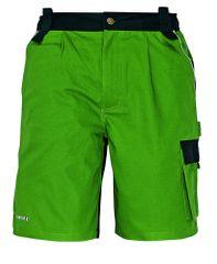 Stanmore Bavlnené montérkové šortky zelená 48