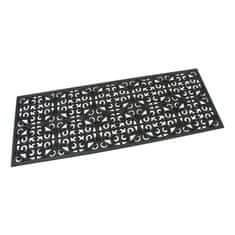 FLOMAT Gumová vstupní rohož Circles - Deco - 120 x 45 x 0,9 cm