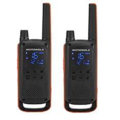 MOTOROLA walkie - talkie TLKR T82, pomarańczowe/czarne