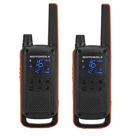 Motorola Walkie Talkie Talkabout T82, narančasto-crni