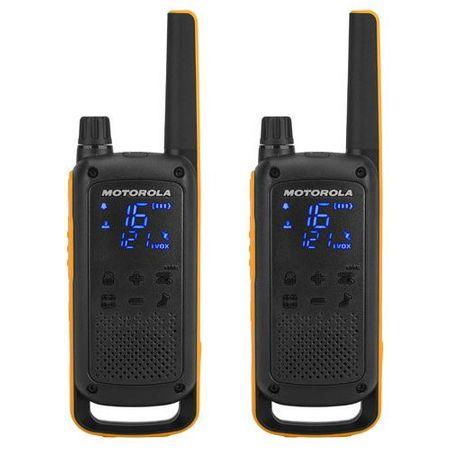 Motorola radijska postaja Walkie Talkie Talkabout T82 Extreme, žuto-crna
