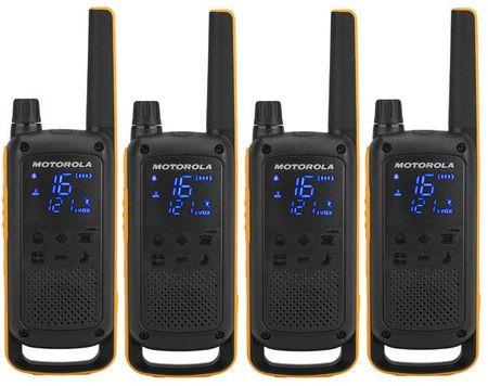 Motorola komplet radijskih postaj T82 Extreme Walkie Talkie Quad Pack