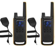 Motorola TLKR T82 Extreme, RAM Pack, žlutá/černá