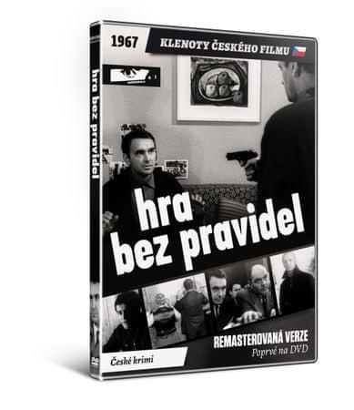 Hra bez pravidel   - edice KLENOTY ČESKÉHO FILMU (remasterovaná verze) - DVD
