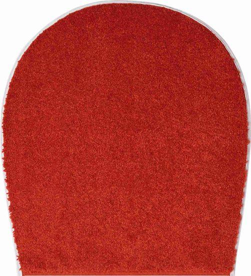 GRUND Česká kúpeľňová predložka, BARCELONA 47 x 50 cm, červená