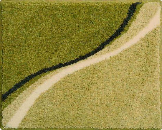 GRUND Česká kúpeľňová predložka, LUCA 50 x 60 cm, zelená