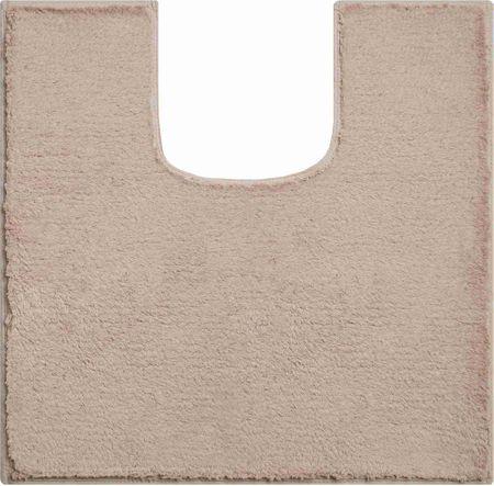 GRUND Luksusowy bawełniany dywanik łazienkowy, MANHATTAN 55 x 55 cm z w., brązowy