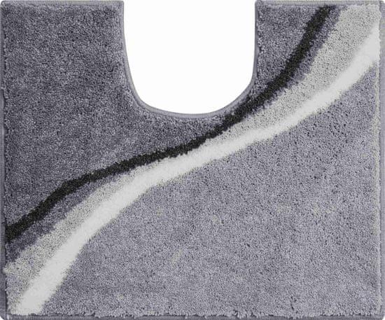 GRUND Česká kúpeľňová predložka, LUCA 50 x 60 cm s.v., sivá