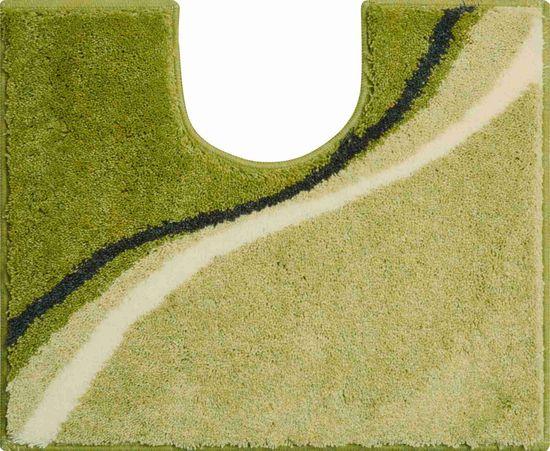 GRUND Česká kúpeľňová predložka, LUCA 50 x 60 cm s.v., zelená