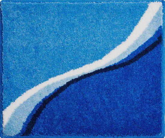 GRUND Česká kúpeľňová predložka, LUCA 50 x 60 cm, modrá