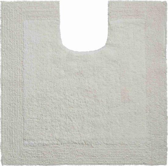 GRUND Luxusná bavlnená obojstranná kúpeľňová predložka, LUXOR 60 x 60 cm s.v., prírodná