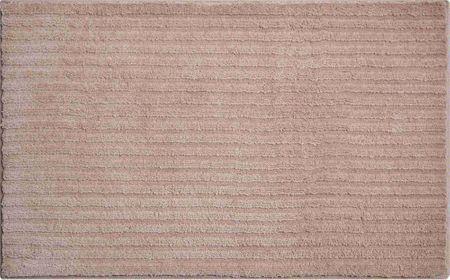 GRUND czeski dywanik łazienkowy, RIFFLE 70 x 120 cm, czekoladowy