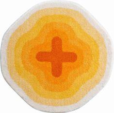 Karim Rashid Luksusowy designerski dywanik łazienkowy, KARIM 03