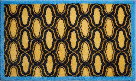 GRUND czeski dywanik łazienkowy, RETRO 60 x 100 cm, żółty