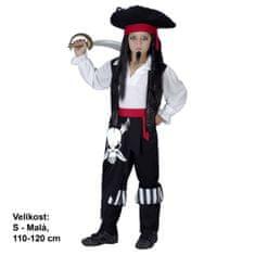 MaDe kostium dziecięcy - Pirat, 110 - 120 cm