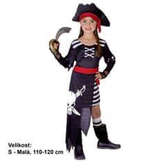 MaDe kostium dziecięcy - Piratka, 110 - 120 cm