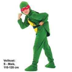 MaDe kostium dziecięcy na karnawał - Żółw Ninja, 110 - 120 cm