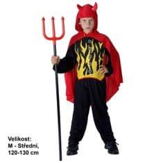 MaDe kostium dziecięcy - Diabełek, 120 - 130 cm