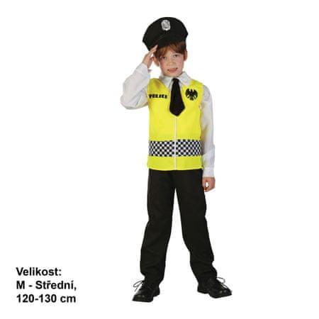 MaDe kostium dziecięcy - Policjant, 120 - 130 cm