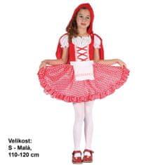 MaDe kostium dziecięcy - Czerwony Kapturek, 120 - 130 cm