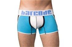 BARCODE BERLIN modré pánské boxerky Danuka 91126