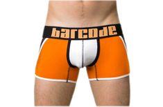 BARCODE BERLIN oranžové pánské boxerky Danuka 91126